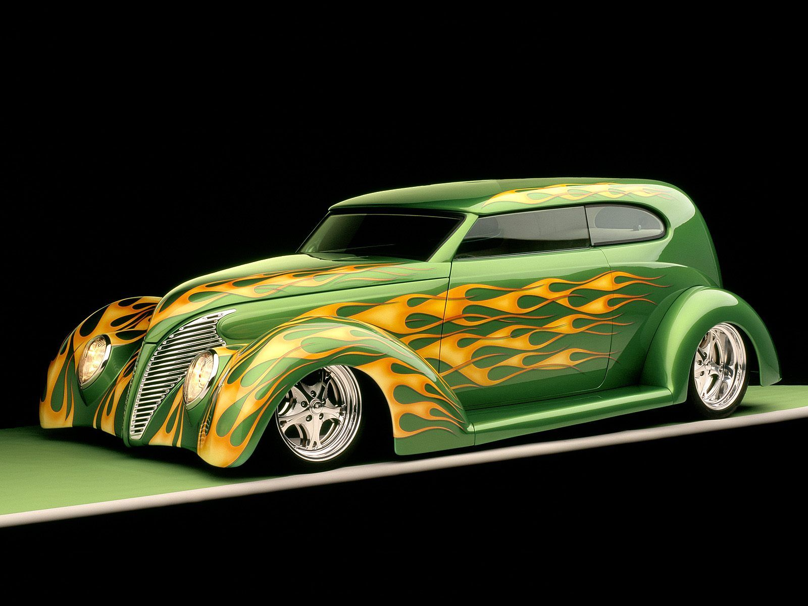 vintage cars | Custom 1939 Ford Sedan green car fire classic & vintage cars | Custom 1939 Ford Sedan green car fire classic ... markmcfarlin.com