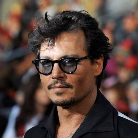 0669c50f8e Johnny Depp in Moscot Lemtosh Black (lenti grigio 40%)