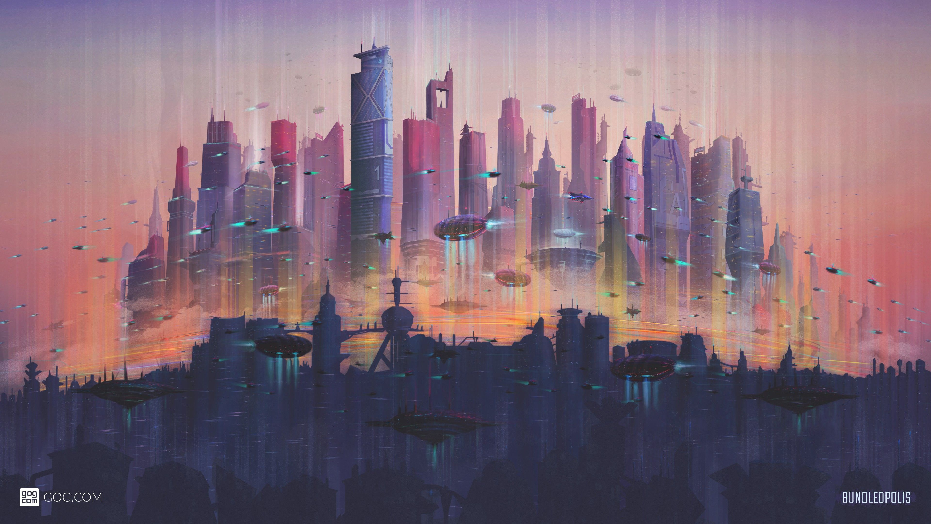 Future Cityscape 4k Wallpapers Hd Wallpapers Cityscape Wallpaper Future Wallpaper Uhd Wallpaper