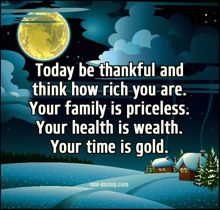 Inspirational Quotes About Being: Today Be Thankful For The Gift Of Each Moment-------- Life