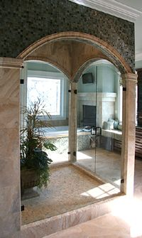 This Is A Beautiful Shower Door Call Dixie Glass Today For