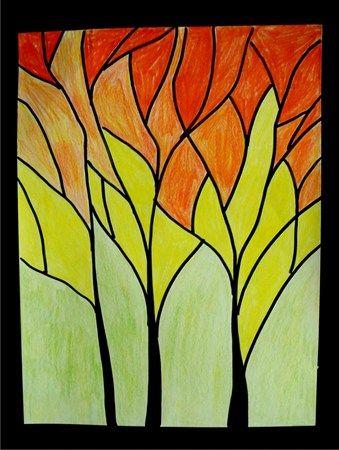 Analogous Colors Fall Art Projects Creative Art Art