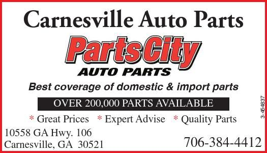 Carnesville Auto Parts Best Coverage Of Domestic Import Parts