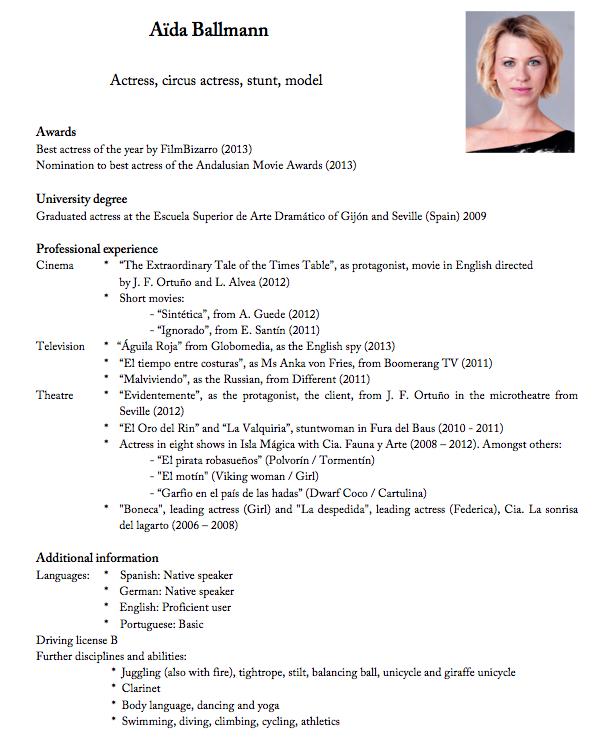 Lebenslauf Auf Deutsch Lebenslauf Beispiel Resume Pinterest Resume