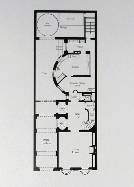 Edith And Ogden Vintage House Plans Floor Plans Ground Floor Plan
