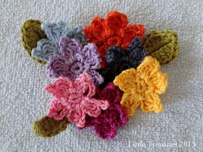 Little Treasures Adenium Free Crochet Flower Tutorial Crochet 1
