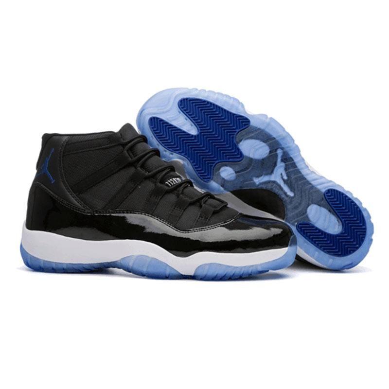 4b19cf8b156035 Jordan Air Retro 11 XI Men Basketball Shoes Space Jam 45 Customized ...