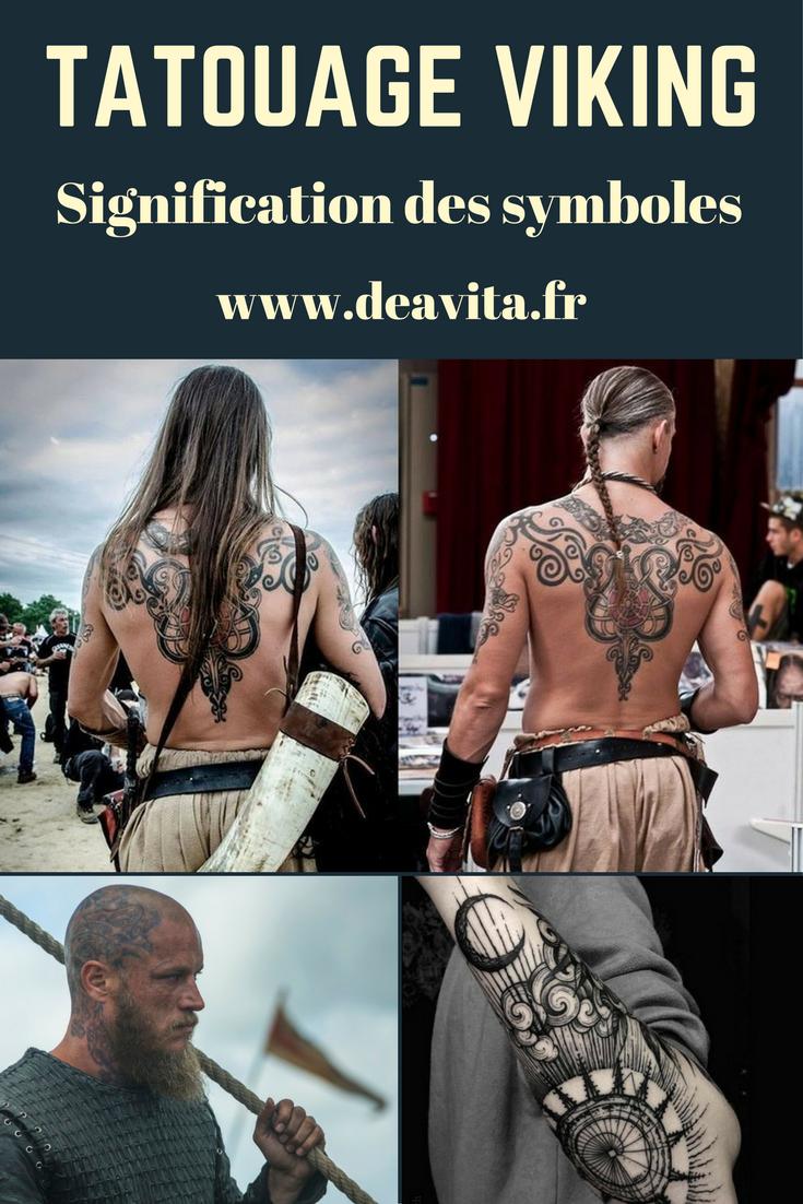Tatouage Viking Signification Des Symboles Et Photos Inspirantes