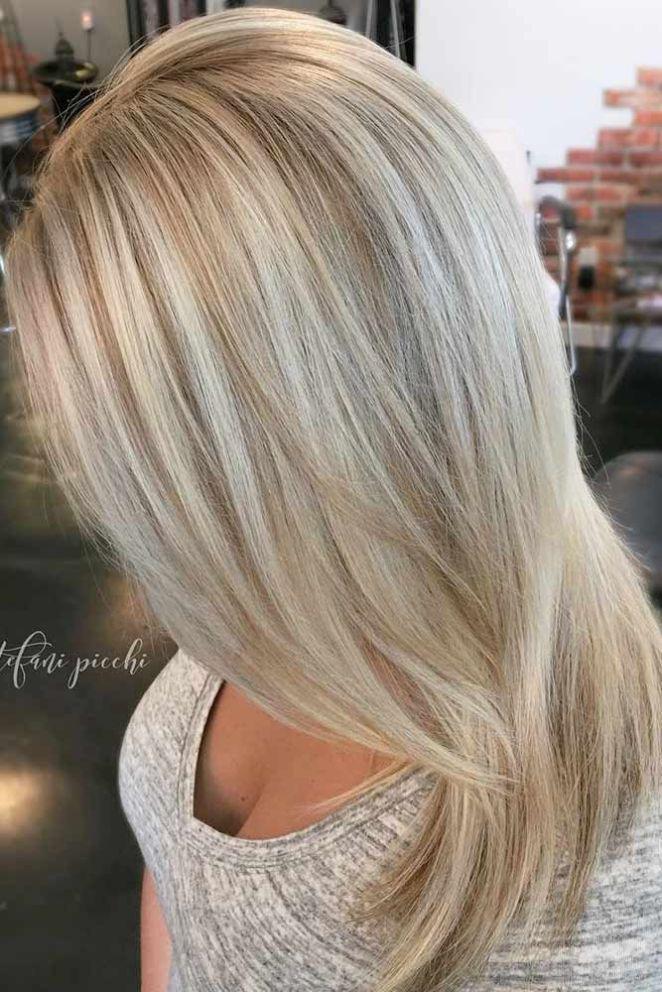 Nouvelle tendance coiffures pour femme 2017 2018 24 - Couleur blonde 2017 ...