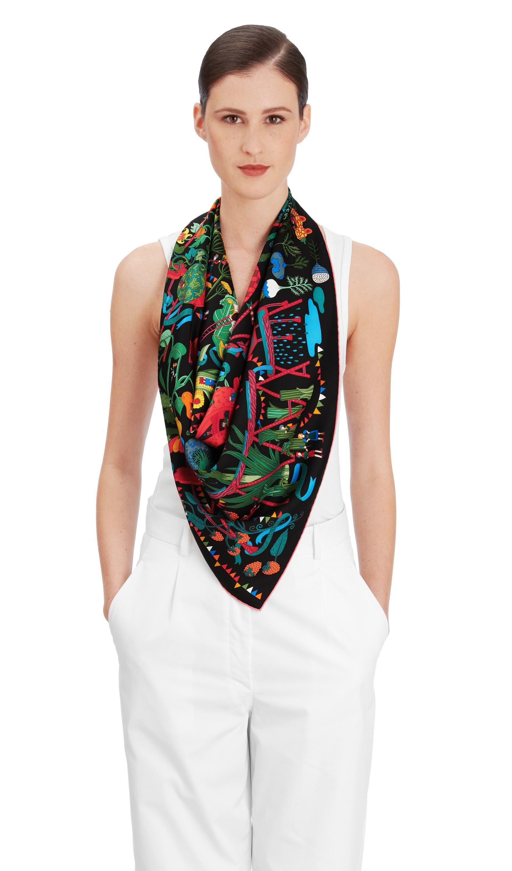 Cashmere Silk Scarf - Day Lily by VIDA VIDA 8FZg6VtB