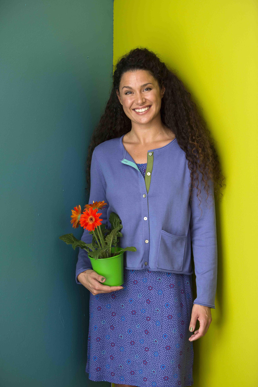 Frühjahrskollektion 2014 - Die Lieblingsjacke hält an frischen Frühlingstagen warm und ist gleichzeitig ein Vorzeigeobjekt an nachhaltiger Mode.