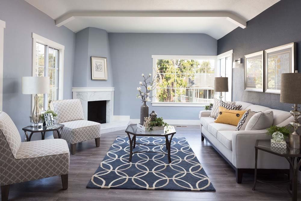 Best Very Attractive Design 19 Gray And Navy Living Room Ideas 400 x 300