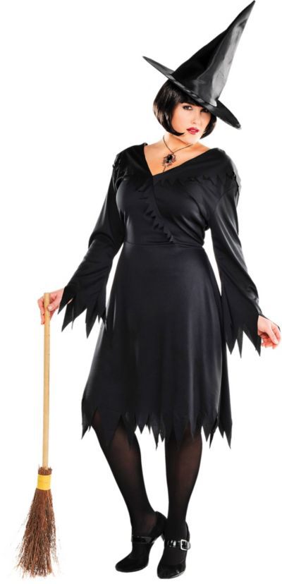 Adult Classic Witch Costume Plus Size Costumes for women