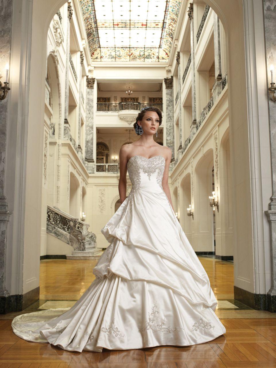 the knot Photo Chapel train wedding dress, Wedding