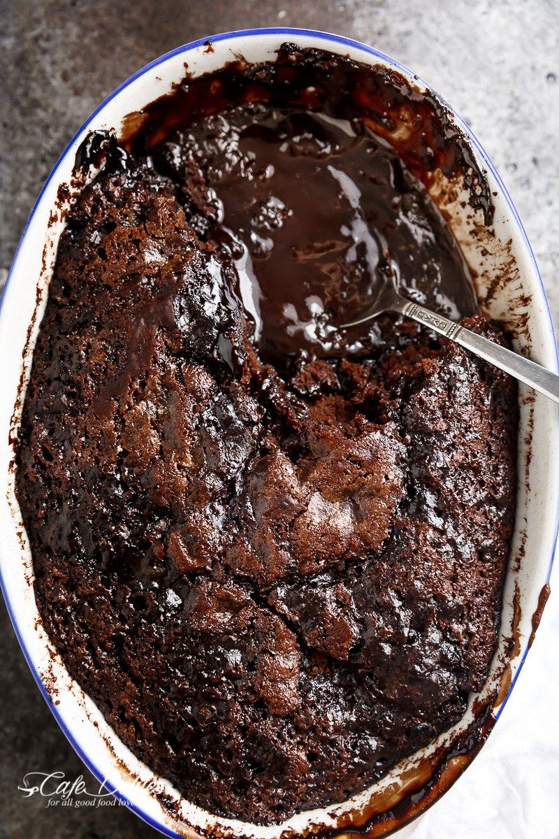 Check out Hot Fudge Chocolate Pudding Cake. It's so easy to make ...
