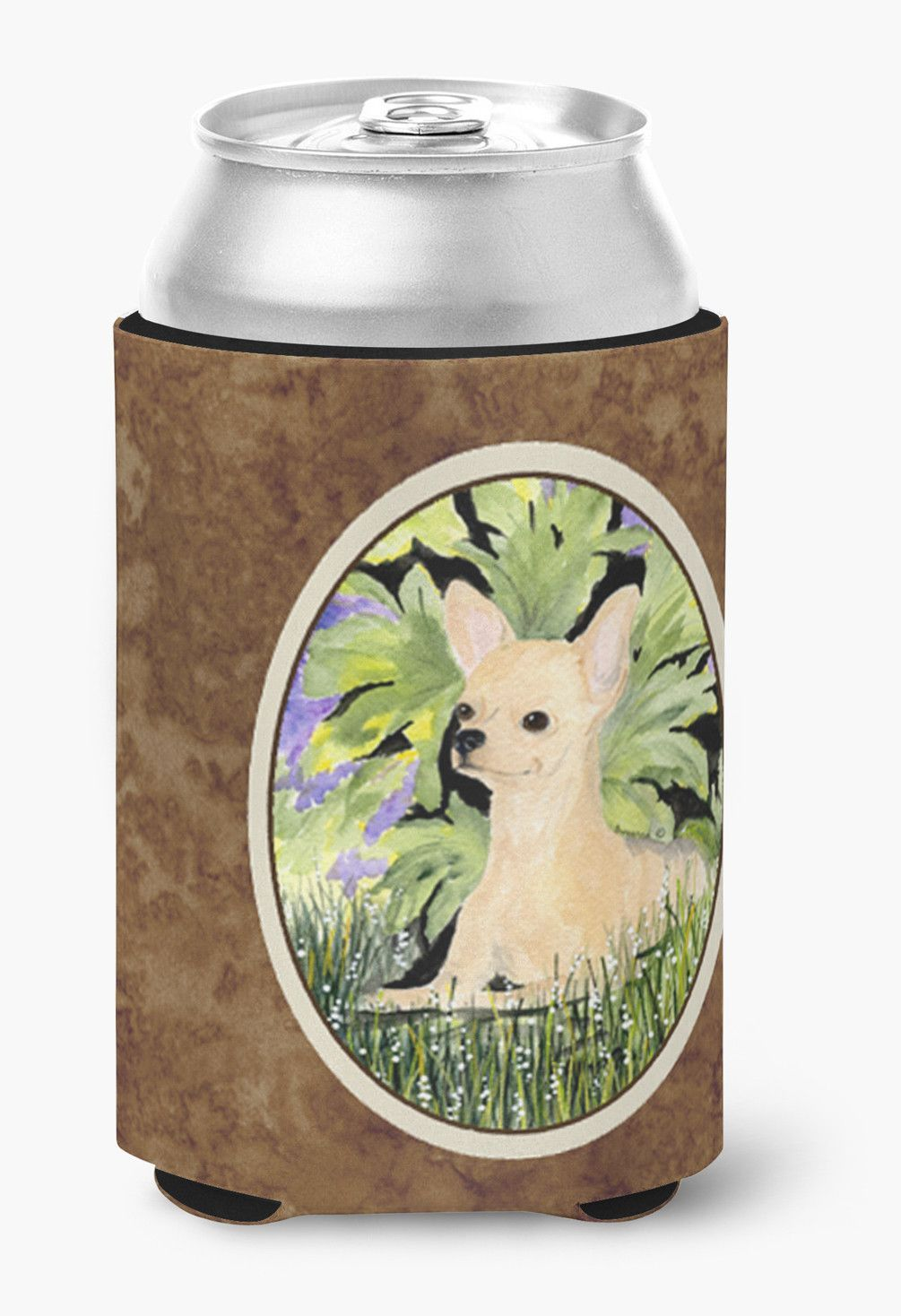 Chihuahua Can or Bottle Beverage Insulator Hugger