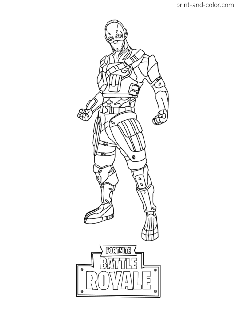 Fortnite Coloring Pages Season 10 Yond3r Free V Bucks
