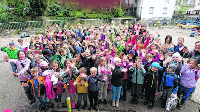 Grundschüler entdeckten den Wald im Nationalpark Schwarzwald