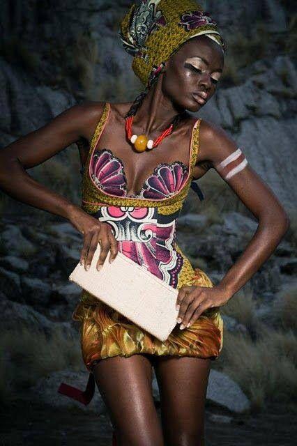 African fashion mixed prints : #africanfashion #africanclothing #ethnic #ethnicfashion #africanprints #africaninspired