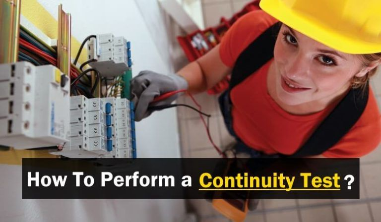 How To Perform A Continuity Test For Electric Components With Multimeter In 2020 Electricity Multimeter Electronic Circuit Projects