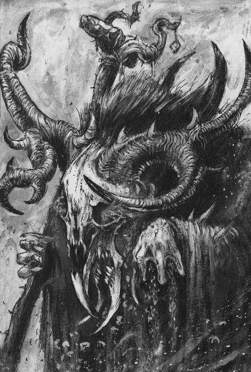Image result for warhammer fantasy black and white art