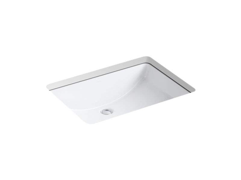Kohler Ladena Undermount Porcelain Bathroom Sink K 2215 0 White Supply Com Porcelain Bathroom Sink Bathroom Sink Kohler