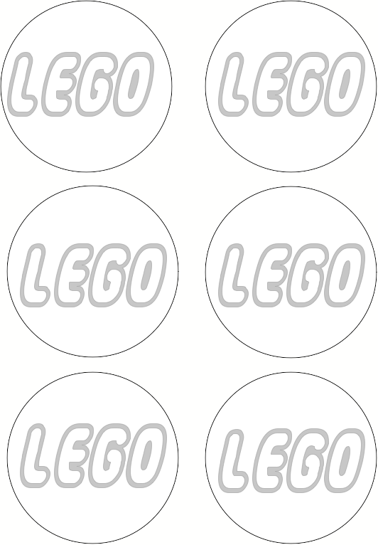 printable template for making those quick lego decorations enough