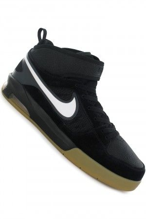 Black · Nike SB Air Shadow Mid Shoe (black white anthracite) buy at  skatedeluxe