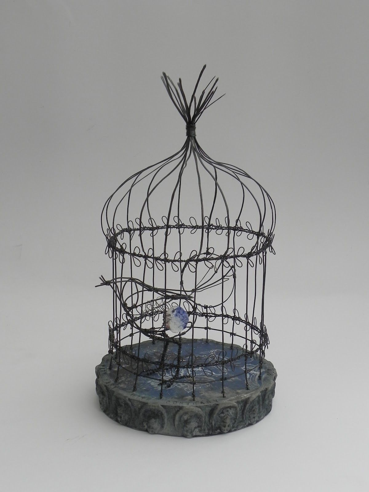Jill Walker: cage structures, curious objects   bird cage ...