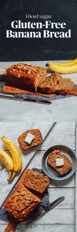 1-Bowl Vegan Gluten-Free Banana Bread | Recipe | Gluten ...