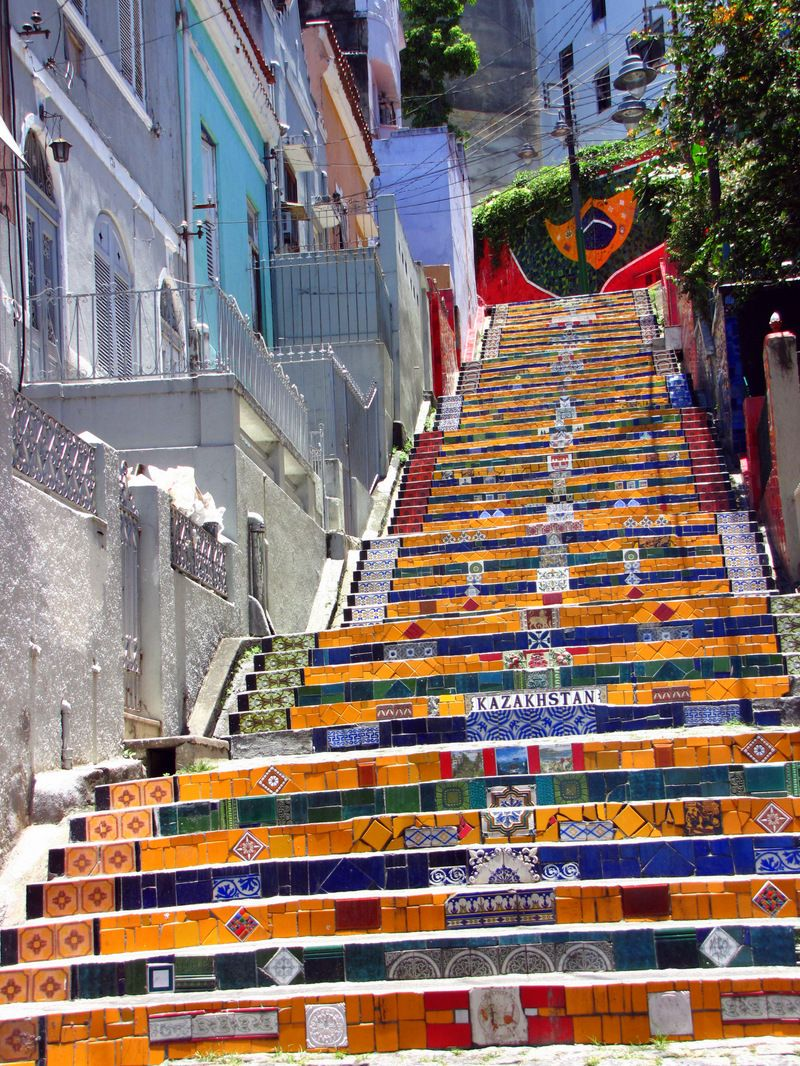 Captivating Beautiful Steps Around The World | Studded Hearts. Stair ArtStreet ...