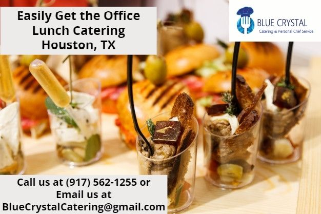 Easily Get the Office Lunch Catering Houston, TX