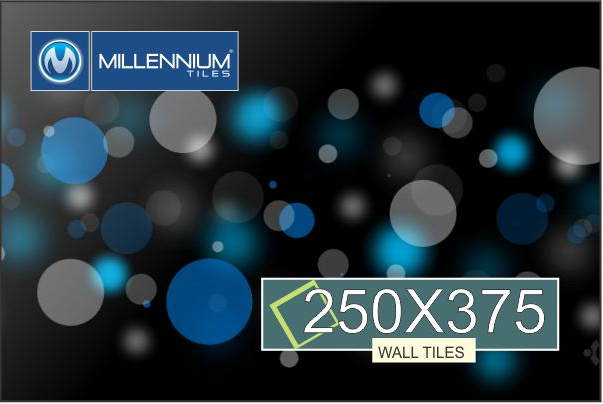 Millennium Tiles 250x375mm Digital Wall Tile Series 250x375mm 10x15 Digital Ceramic Glossy Wall Tiles Series Ceramic Wall Tiles Black Wallpaper Wall Tiles