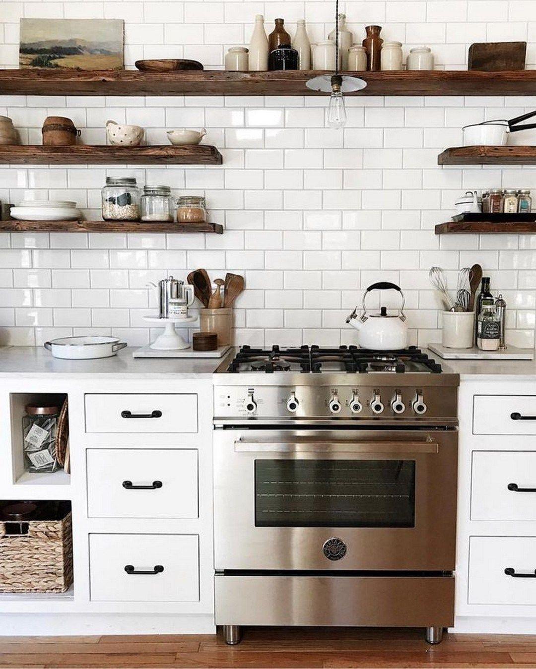49 kitchen live edge floating shelves kitchen renovation on floating shelves kitchen id=37344