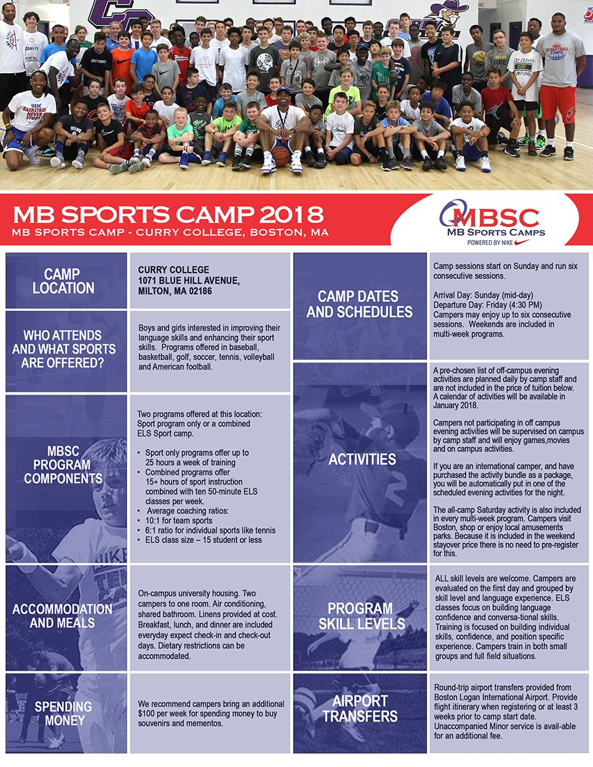 Sports Camp Brochure Pg1 Freelance Graphic Design Brochure Brochure Design