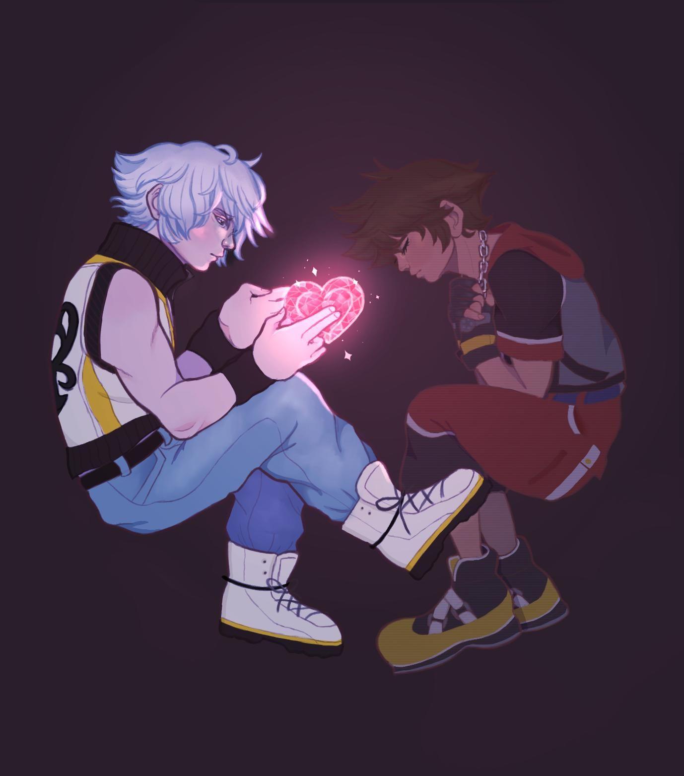 Alex Riku Is A Soft Boy On Riku Kingdom Hearts Sora Kingdom Hearts Kingdom Hearts