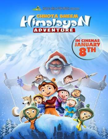 Chhota Bheem Himalayan Adventure 2016 Hindi 720p DVDRip ESubs - best of chhota bheem coloring pages games