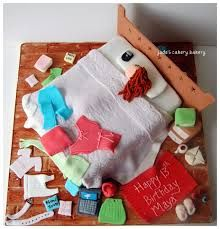 Image result for how to make a messy bedroom cake