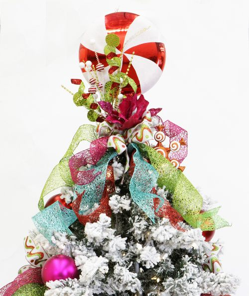 Martha Stewart Christmas Tree Topper: Show Me Decorating Christmas Confection Tree