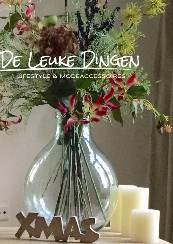 Wij wensen iedereen mooie 'warme' feestdagen ! www.deleukedingen.nl