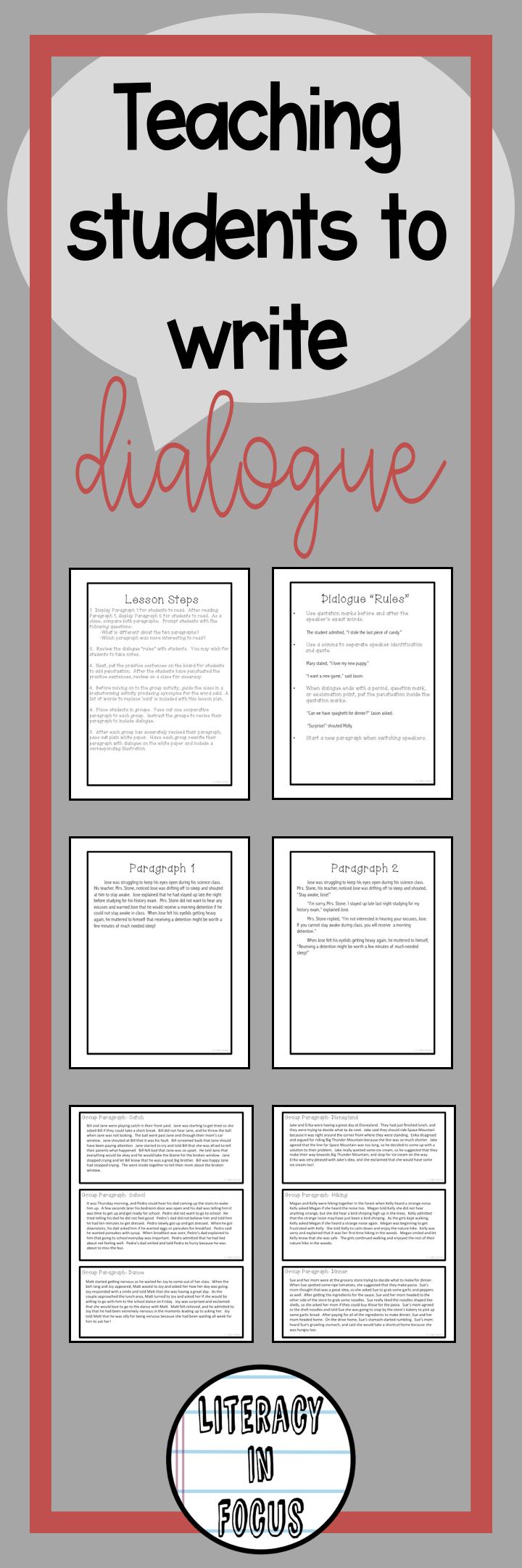 Writing Dialogue Practice Activities Dialogue Worksheets Writing Dialogue Writing Lessons Narrative Writing [ 2160 x 720 Pixel ]