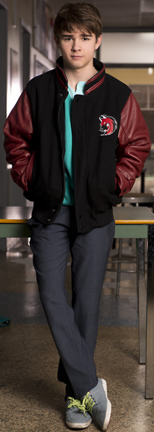 essentially, he's the most adorable boy in the world. or at least degrassi.