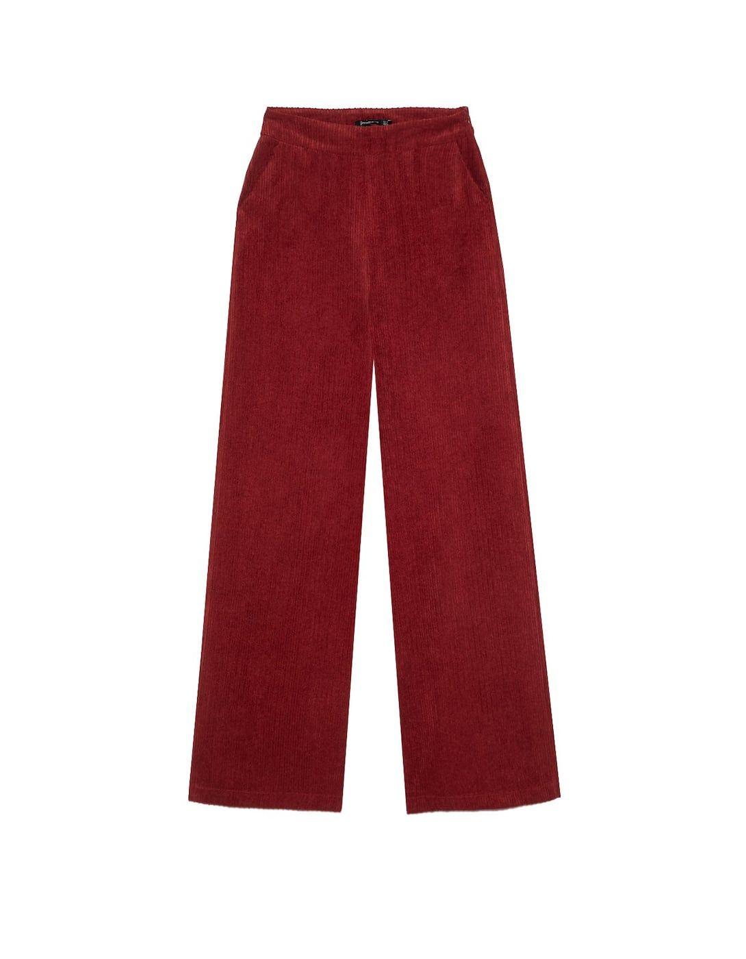 Pantalón de pana ancho - Nuevo de mujer  4b0e8645c672