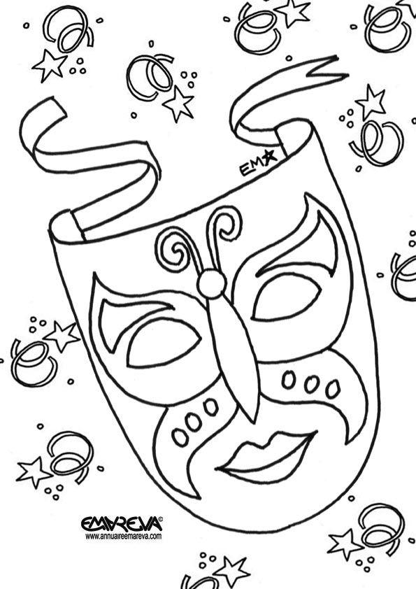 mask carnival - Recherche Google | Coloriage a imprimer Adultes ...