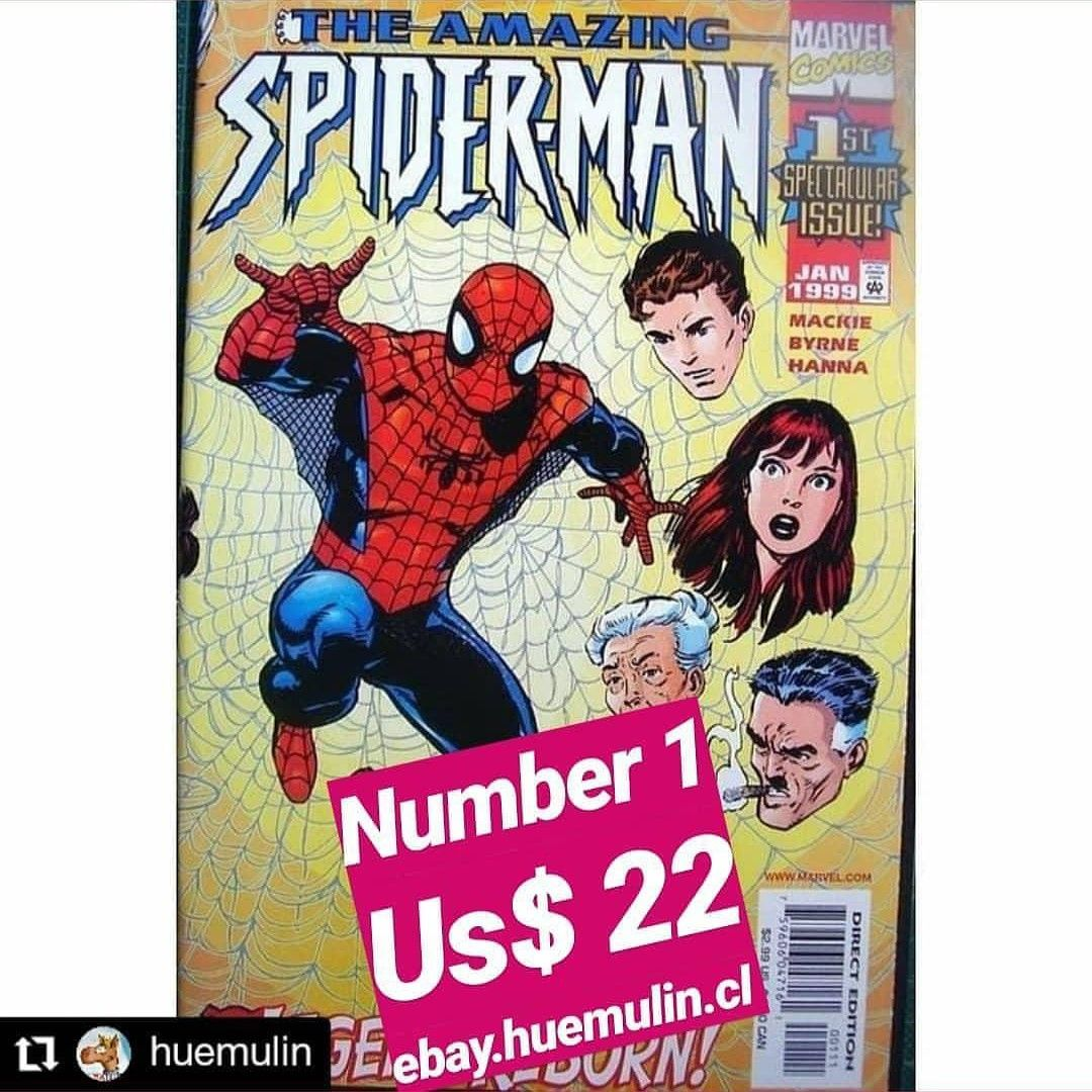 Number 1 #spiderman #comic #collector www ebay huemulin cl