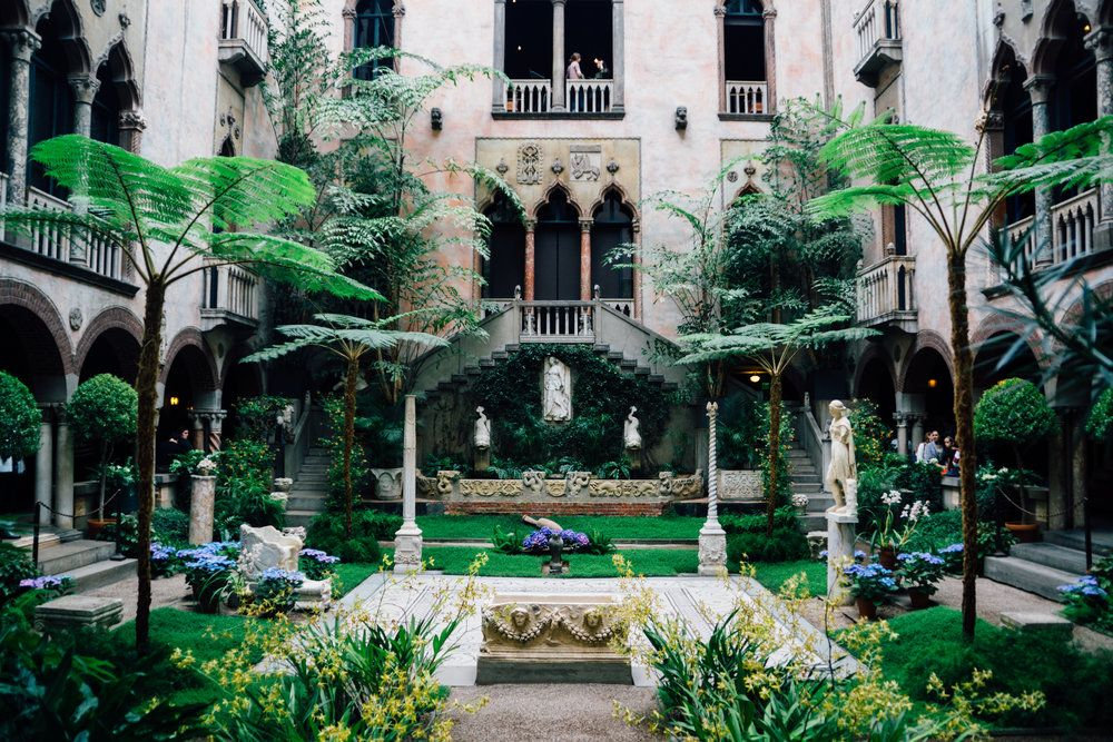 Guide to the isabella stewart gardner museum just us