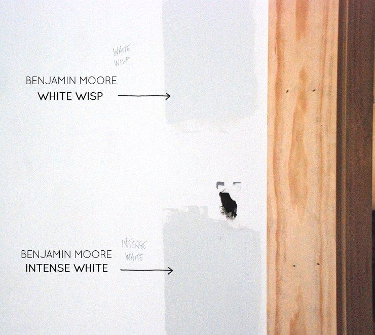 Benjamin Moore Intense White