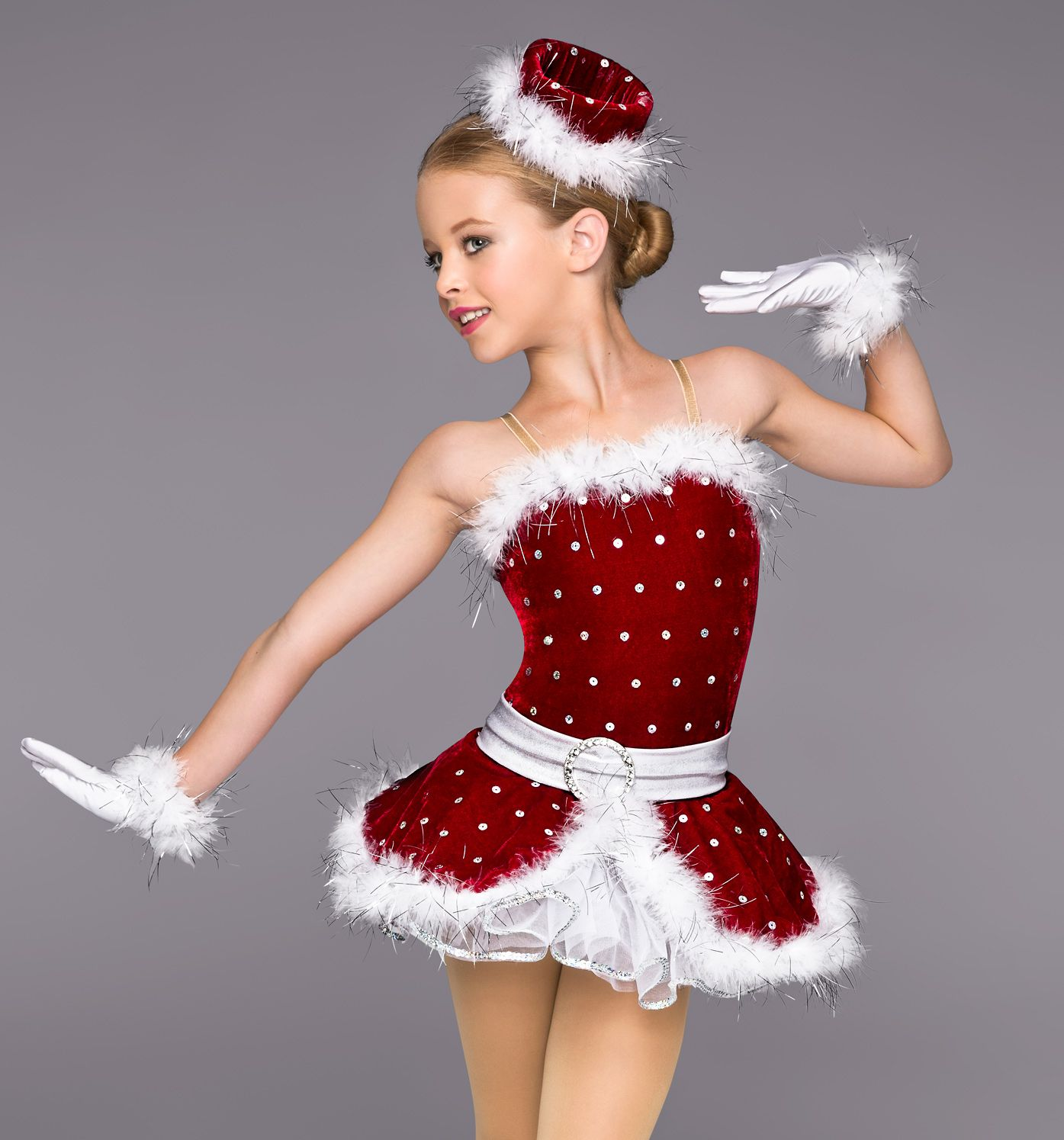 Girls quot santa s helper costume set style number th c