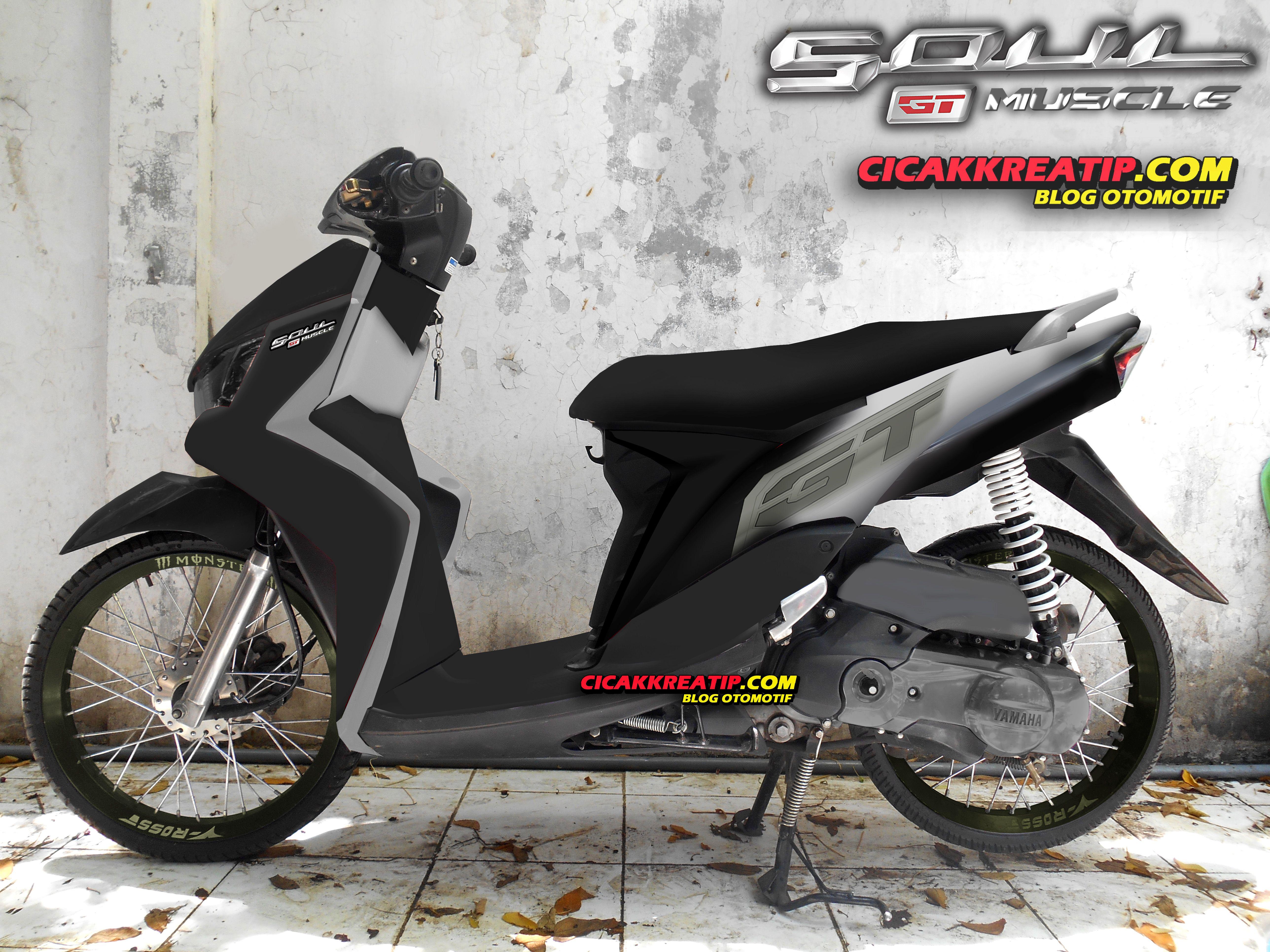 Modifikasi Motor Mio Warna Abu Abu In 2020