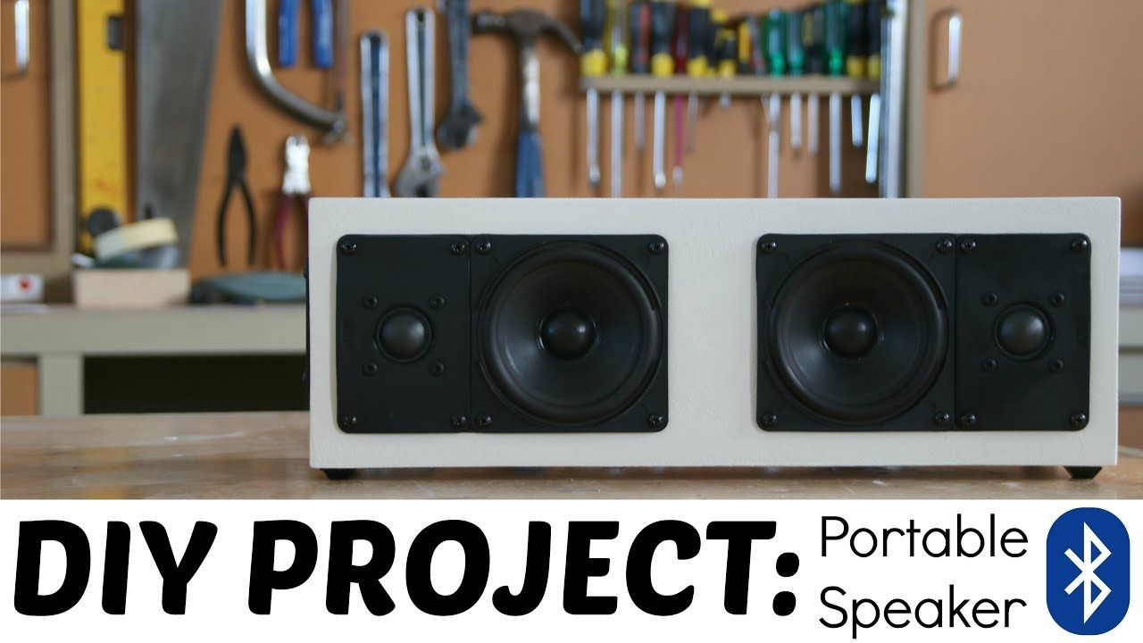 How to extremely loud diy bluetooth speaker build